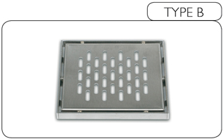 Wet-Dec grill type - Oblong Slots