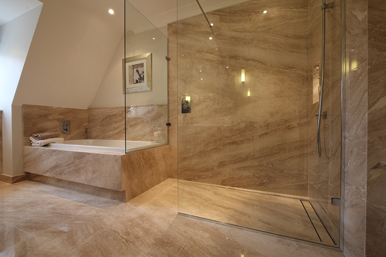 Wet rooms design gallery ccl wetrooms - Bath shower room ...