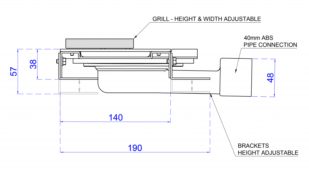 extra shallow height brackets