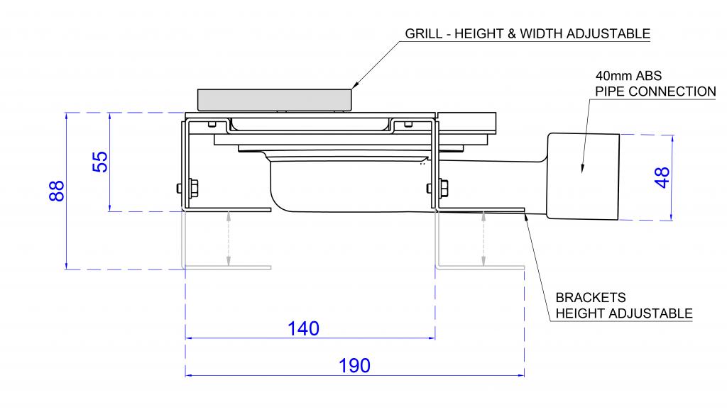 standard height brackets