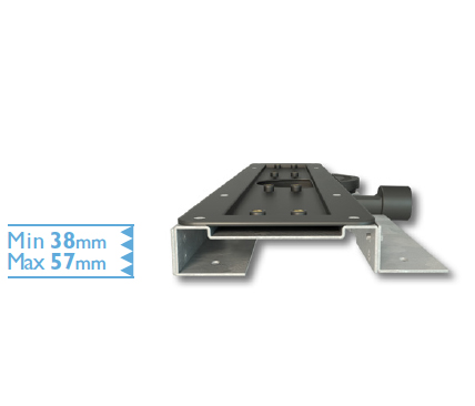 Extra Shallow Bracket for Linear Screed Drain