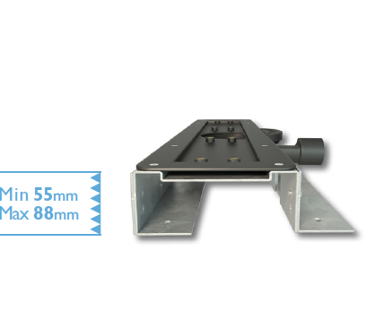 Standard Bracket for Linear Screed Drain