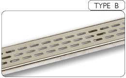 Oblong Slots Grill Modular Wet Floor
