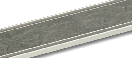 stone-infill 6-8mm grill finish