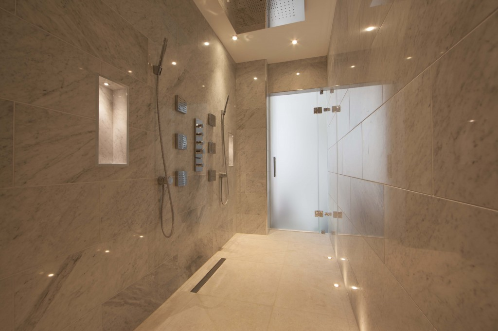 Wet room design gallery for What s a wet room