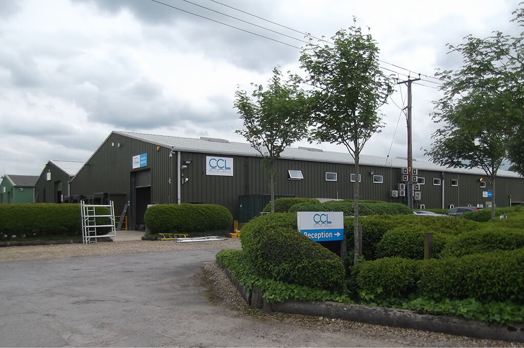 CCL Group offices and warehouse in Hook