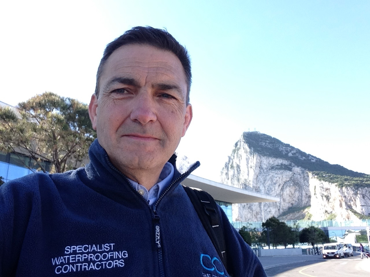 Jim Langdon in Gibraltar