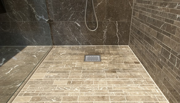 New solo4 drain for How to fit a wet room floor