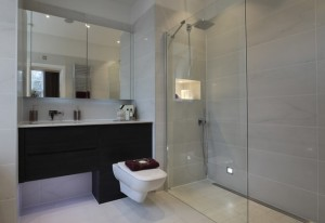 Stylish wet room design