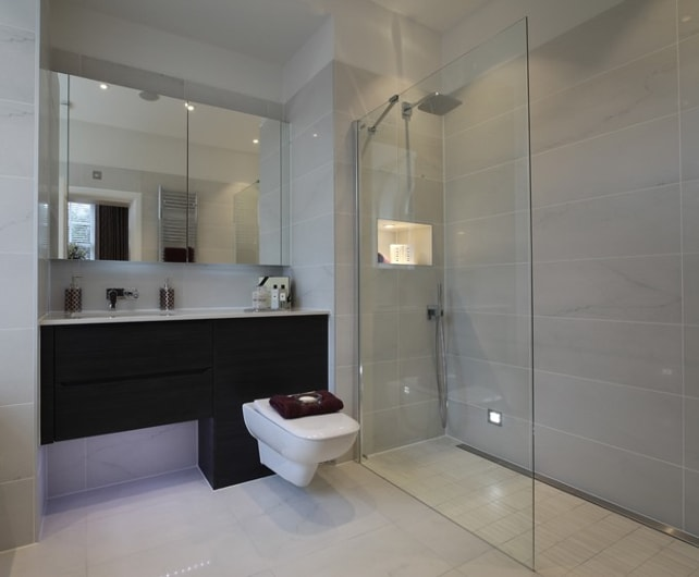 Beau Stylish Wet Room Design