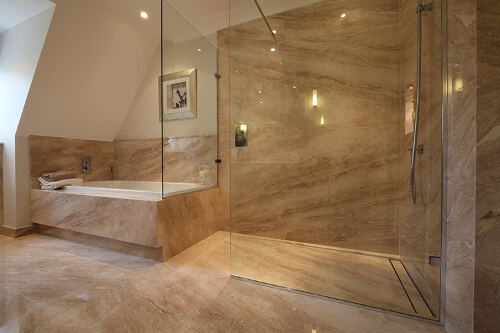 luxury wet room natural