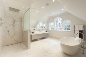 Luxury home wet room