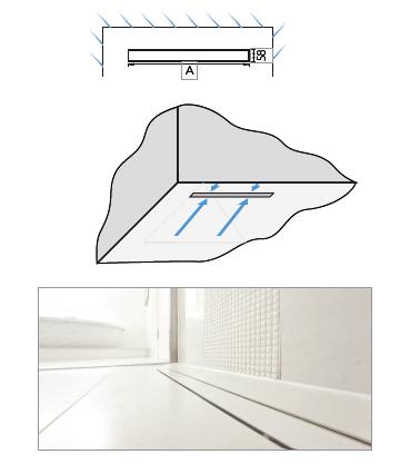 linear wet room drain floor grill