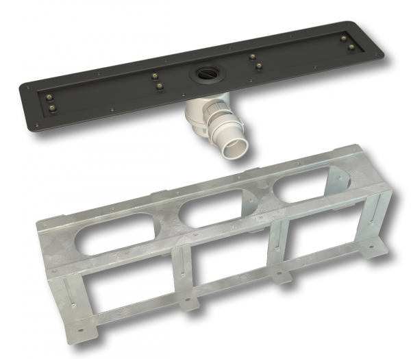 Linear Screed Line and Bracket seperated