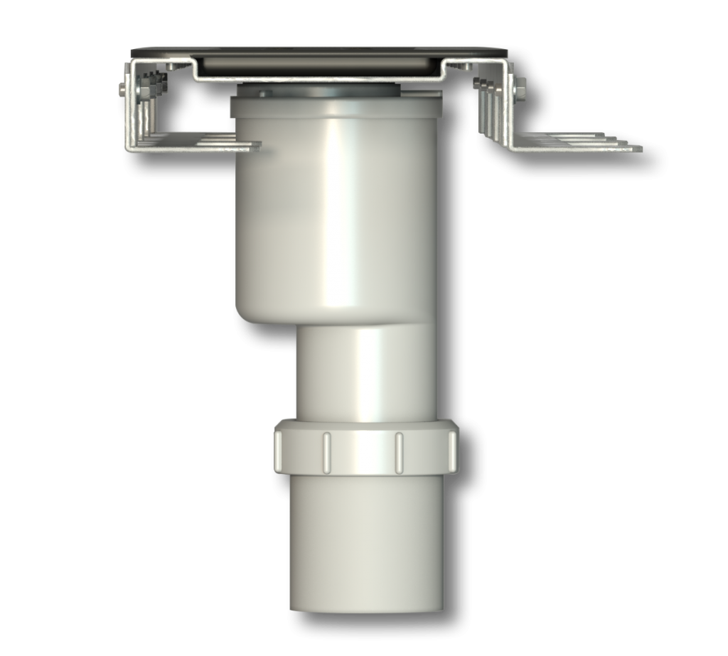 Vertical Trap with Extra Shallow Bracket - Side view