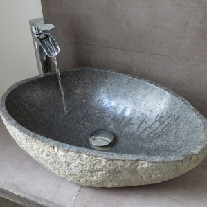 natural stone bathroom sink