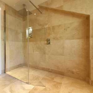 seamless wet room design