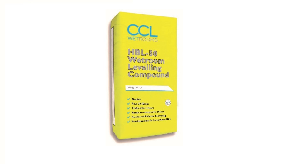 HBL-50 Wetroom Levelling Compound