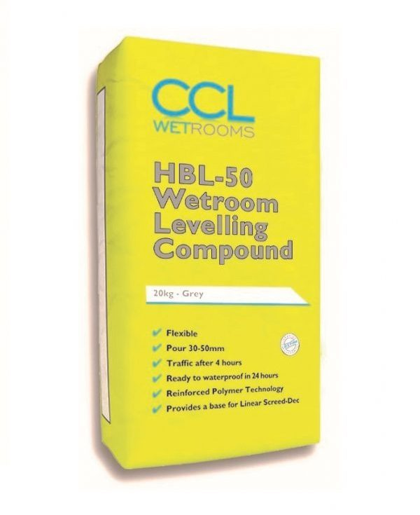 HBL-50 Wetroom Leveling compound